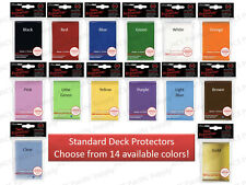 300 ULTRA PRO DECK PROTECTORS SLEEVES LOT Standard MTG 6 Pks Mix & Match Colors