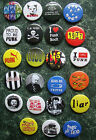 PUNK COLLECTION 23 BUTTON BADGES 1INCH / 25MM POSTER FANCY DRESS Oi ROCKERS PIN