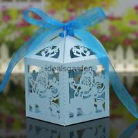 20PcsChristmas Candy Chocolate Gift Sweets Boxes Ribbon Wedding Party Favors
