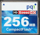 256 MB PQI Hi-Speed 40 CompactFlash / Flash Speicherkarte plus Box
