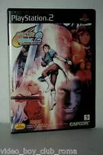 CAPCOM VS SNK 2 MILLENNIUM FIGHTING 2001 GIOCO USATO SONY PS2 ED JAPAN 37197