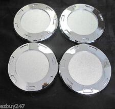 """CENTER CAPS FOR 22"""" ESCALADE CHROME WHEELS RIMS 5309 SET OF FOUR NEW CHROME CAPS"""