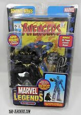 BLACK PANTHER Marvel Legends NEW Sentinel Series ACTION FIGURE 42 Pts TOY BIZ