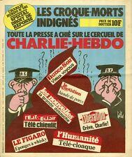 """""""L'HEBDO HARA-KIRI N°24 du 11/12/1982"""" Gébé : TOUTE LA PRESSE a chié sur CHARLIE"""