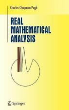 Undergraduate Texts in Mathematics: Real Mathematical Analysis by Charles...
