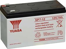 Yuasa NP7-12 EBALT2-Mighty Mule Replacment Battery 12V 7.0Ah