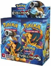 Pokemon TCG: EVOLUTIONS XY12 HALF BOOSTER BOX **18PACKS**