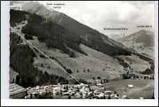 SAALBACH Österreich Salzburger Land ca.50/60er Jahre Gesamtansicht Alpen Berge