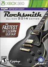 XBOX 360 ROCKSMITH 2014 Authentic Guitar Games & Real Tone **CABLE**