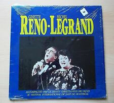 GINETTE RENO - MICHEL LEGRAND LP JAZZ