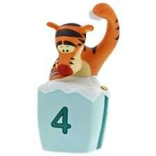 Pooh Collectible Tigger Figurine 4 th Birthday Tigger Cake Topper porcelain four