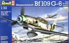 Revell Germany WWII German Messerschmitt Bf109 G-6 Fighter model kit 1/32