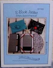 """Suzie C Shore Designs"" Sewing Pattern: E-Book Jacket (for your E-Reader)"