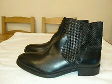 Men's ankle boots size 6.5/40 real leather new with box
