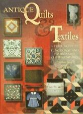 BOEK/BOOK/LIVRE/PRICE GUIDE : ANTIQUE QUILTS & TEXTILE antiek textiel vintage