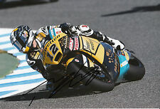 Thomas Luthi Hand Signed Interwetten Paddock Suter 12x8 Photo 2014 Moto2 2.
