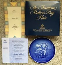 """1988 Royal Copenhagen The American Mothers Day """"Western Trail"""" 1st Edition 1988"""