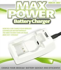 Cargador De Batería Para XBOX Max Power 360 (UK 3 Pin Enchufe)