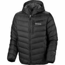 Columbia Nature Ridge Hooded Down Jacket, Omni Heat, Black, S