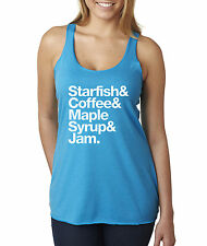 New Way 457 - Women's Tank-Top Starfish Coffee Maple Syrup Jam