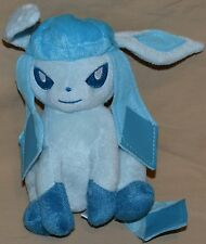 "7.5"" Sitting Glaceon # 471 Plush Dolls Toys Stuffed Animals Takara Tomy Version"