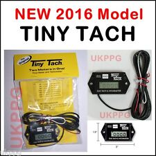 Tiny Tach TT2A Digital Hour Meter Tachometer Adjustable Resetable Service Timer