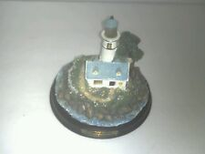 Thomas Kinkade A Light in the Storm Lighted Lighthouse