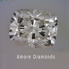 1.02 ct GIA F color natural cushion cut loose diamond solitaire engagement ring