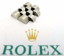 ROLEX Stahl Jubile Doppel-Element 15,5mm für Herren 1980er/1990er Jahre