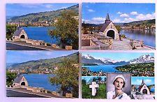 Postkarten Lot 4x Küssnach am Rigi Schwyz Switzerland ungelaufen ca./ab 1970