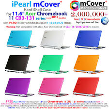 "iPearl mCover® Hard Case for 11.6"" Acer Chromebook 11 CB3-131 2016 IPS Laptop"