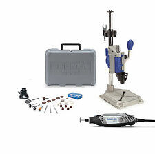 Dremel 3000 130W Corded Rotary Tool 26 Bits w Dremel Press Drill Workstation