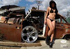 """18x8"""" GASSER 474 WHEEL AMERICAN RACING 2 PIECE CUSTOM FORD MOPAR CHEVY GM  NEW"""