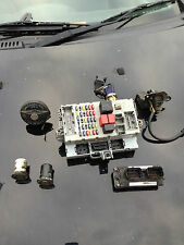 FIAT PUNTO 1.2 8V MK2 ECU KIT WITH LOCKSET IAW59FM3 WITH CENTRAL LOCKING/ETC