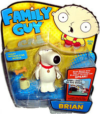 Family Guy Crazy Interactive World Brian Griffin Action Figure MIB Playmates Toy