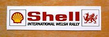 Shell International Welsh Rally Motorsport Sticker / Decal