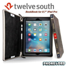 "Genuine Twelve South BookBook iPad Pro 9.7"" Book leather case Vintage Brown"