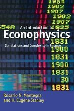 Introduction to Econophysics : Correlations and Complexity in Finance by...
