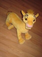 "Hasbro Walt Disney Lion King Simba 20"" Jumbo Large Stuffed Plush Animal/Free SH!"