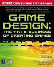 Game Design: The Art and Business of Creating Games (Prima Tech's Game Developme