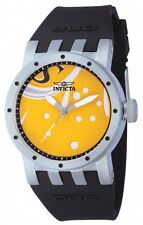 NEW Ladies Invicta 10444 DNA Recycled Art Yellow Dial Artsy Swiss Quartz Watch