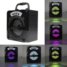 Outdoor Bluetooth Portable Speaker Super Bass with USB/TF/AUX/FM Radio