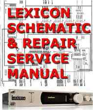 1 pdf lexicon service repair manual for PCM70, PCM80, PCM90, REFLEX, SUPER PRIME