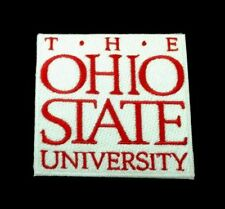 "THE OHIO STATE UNIVERSITY embroidered vintage Iron on Patch 3""x 3"" CLASSIC"