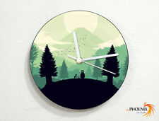 Tonari No Totoro - My Neighbor Totoro - Japanese Anime - Custom Name Wall Clock