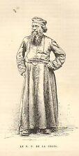 86 SANXAY SITE GALLO-ROMAIN REVEREND PERE DE LA CROIX GRAVURE 1883
