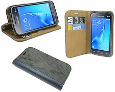 libro - stile tagua Custodia per Samsung Galaxy J1 MINI 2016 J105H Antracite