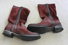 n d c handmade ladies leather boots - sz 39
