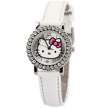 Reloj analogico Hello Kitty strass caja metalica