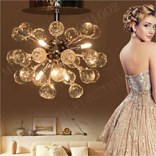 Modern Crystal Chandelier Ceiling lights Pendant Lamp Fixture Lighting Lamp US